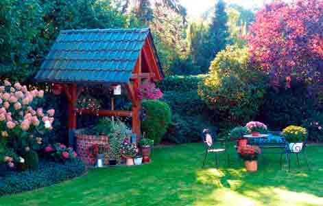Jardín, paisajismo Verde Consciente